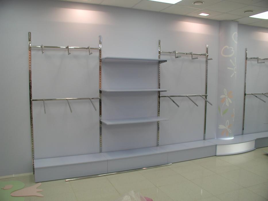 3d46af6f7ba Своим клиентам мы предлагаем как стандартное торговое оборудование для  детской одежды (готовые решения)